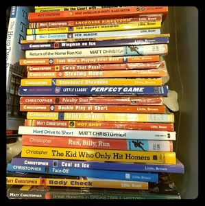 50+ Boys Sports Chapter Books!!